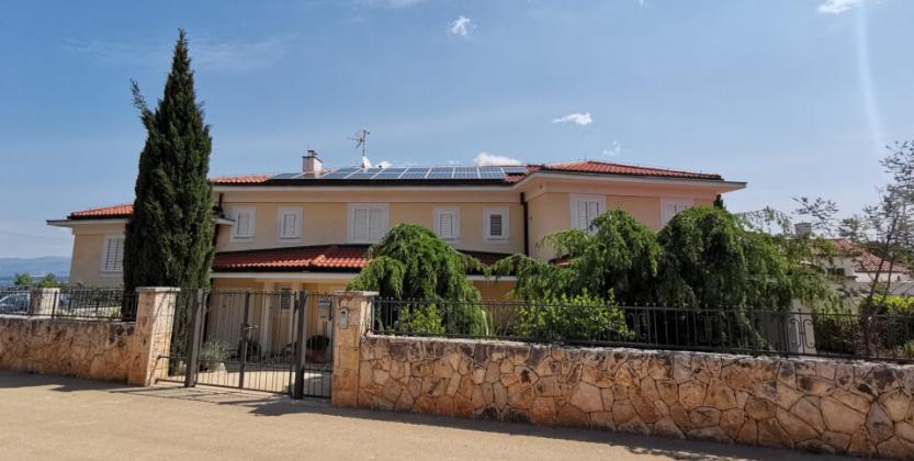 Sunčana elektrana Villa Astra